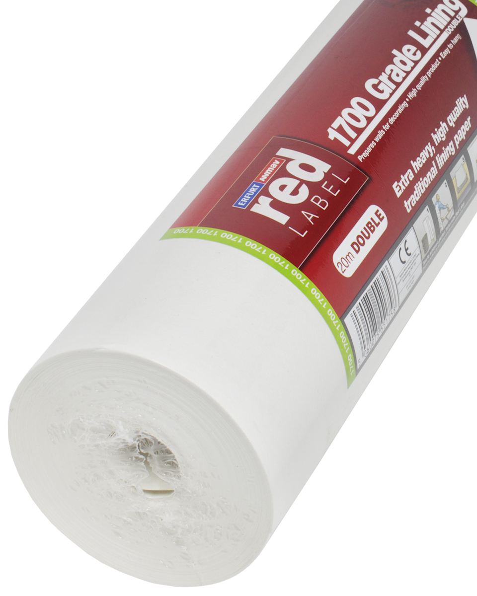 Red Label Lining Paper 1700 Grade